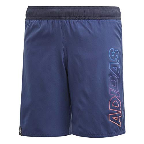 adidas Kinder YB LIN Shorts Badeanzug, Indtec, 152 (11/12 años)