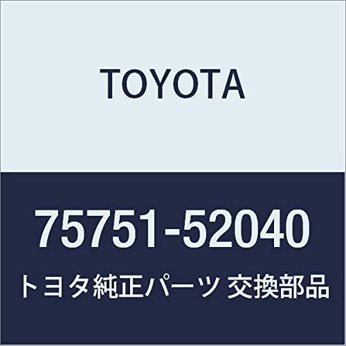TOYOTA Genuine Our shop OFFers the best service 75751-52040 Window Frame Molding free