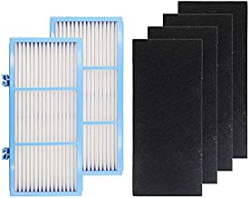 2 HEPA Filters + 4 Carbon Booster Filters Compatible with Holmes AER1 HEPA Type Total Air Filter,HAPF30AT for Purifier HAP242-NUC