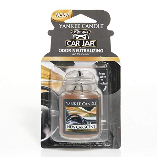 Yankee Candle 1220940E Deodoranti per Auto, Car Vaso Ultimate, New Car Scent