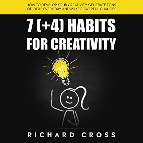 7 (+4) Habits for Creativity audiobook cover art