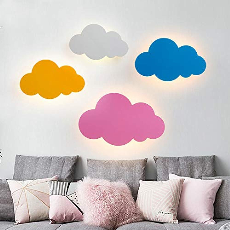 5 watt 110 v-260 v eisen wandleuchte nordic cartoon kreative wolke led schlafzimmer nachttischlampe mdchen kinderzimmer beleuchtung