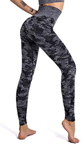 heekpek leggins sportivi donna Pantaloni da Yoga Alta Vita Completo Sportivo Fitness Tuta Felpata Sexy Sporthose Leggins
