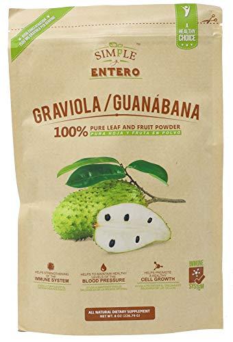 Simple y Entero Graviola/Guanabana, 100% Pure Leaf...