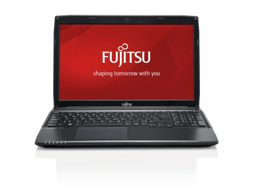 Fujitsu VFY:A5440M7501DE LifeBook A544 39,6 cm (15,6 Zoll) Laptop (Intel Core i5-4200M, 2,5GHz, 4GB RAM, 500GB HDD, Win 7 Pro) schwarz
