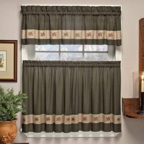 Cabin Kitchen Curtains: Amazon.com