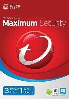 Best titanium maximum security Reviews