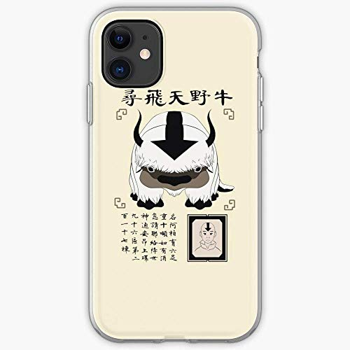 TIINTEXBA Compatible with iPhone 12/12 PRO Max 12 Mini 11 PRO Max SE X XS Max XR 8 7 6 6s Plus Case Aang Lost Sky Bison Avatar Appa Air Airbender The Last Phone Cases Cover