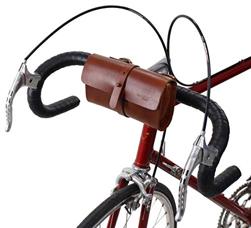 Gusti Lenkertasche Ottavio B. Leder - Fahrradtasche Zubehör Fahrrad Werkzeugtasche Utensilien Damen...