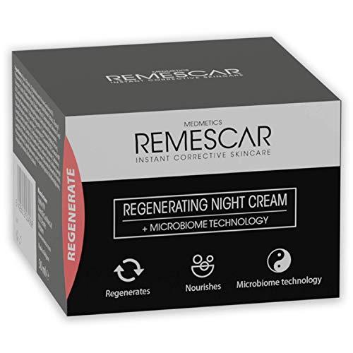 Remescar Crema Notte Rigenerante - nutre la pelle per un aspetto luminoso e fresco - Migliora la rigenerazione della pelle durante il sonno