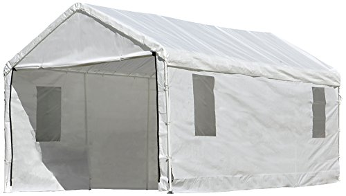 ShelterLogic MaxAP Clearview Enclosure Kit with Windows, 10 x 20 ft. (Frame and Canopy Sold Separately)