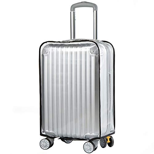 20' Clear Waterproof Scratchproof PVC Luggage Cover Suitcase Protector Cover Travel Luggage Trolley Case Cover