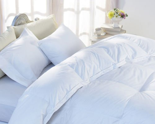Home & Bath Co. Luxurious Goose Feather and Down 13.5 Tog Duvet Comfort & Warmth Without the Weight - 60% White Goose Feather / 40% White Goose Down Winter Quilt - (Single)
