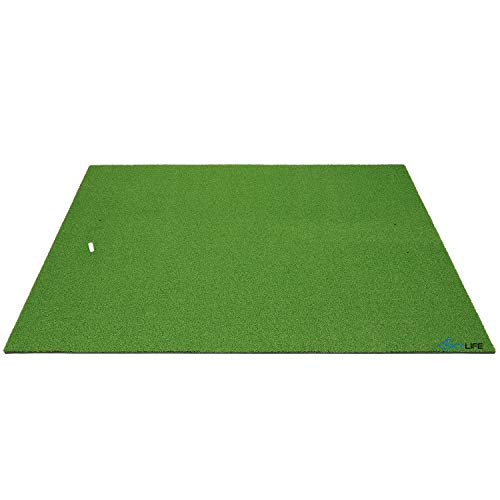 SkyLife Golf Practice Mat Driving Chipping Putting Hitting Turf Training Equipment for Backyard Home Garage Outdoor Use (3' x 5')
