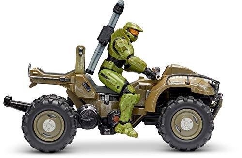 "Halo 4' ""World of Halo"" Figure & Vehicle – Mongoose with Master Chief"