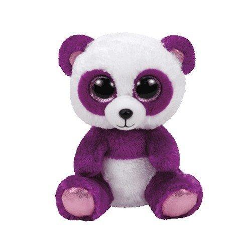 TY - Beanie Boos Boom Boom, peluche panda, 15 cm (United
