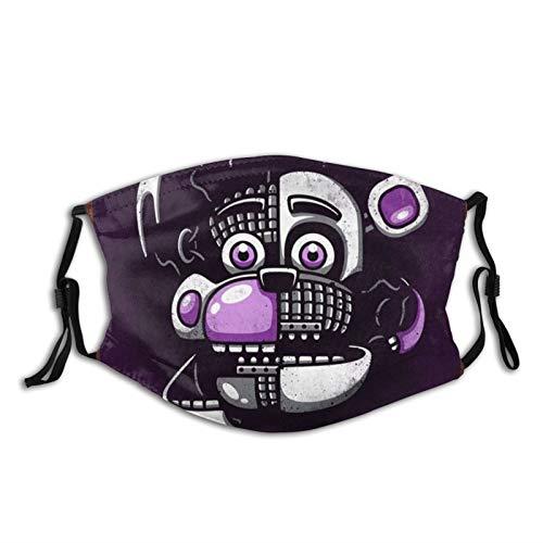 Adult Washable Dust Mask Sister-FNAF_Location Face Masks for Women Men Kids Face Cover Breathable 5 Pcs