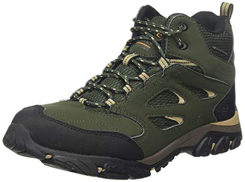 Regatta Herren Holcombe Iep Mid Rise Hiking Boot Trekking- & Wanderstiefel, Grün (Bayleaf/Oat W68), 43 EU