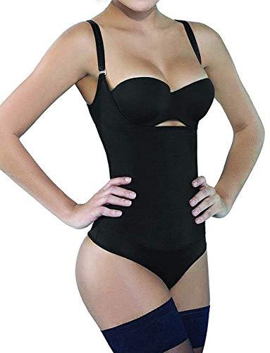 SHAPERX Womens Open Bust Bodysuit Fajas...