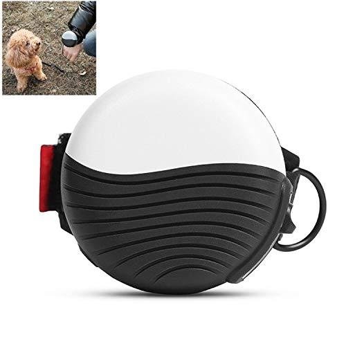 Automatischer einziehbarer Handgelenk-Haustier-Nylon-Leine 3M automatische einziehbare armbandige Haustier-Nylon-Leine RongGu (Color : White)