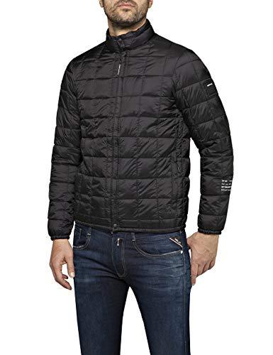 Replay Herren M8006 .000.83406 Jacke, Schwarz (Black 98), Large (Herstellergröße: L)