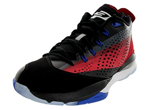 Air Jordan CP3.VII Black - White - Team Red - Gym Red Mens 12