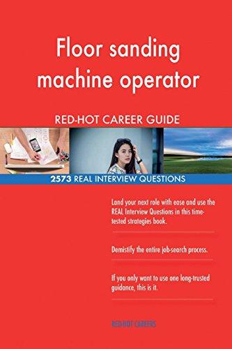 Floor sanding machine operator RED-HOT Career; 2573 REAL Interview...