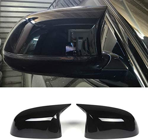 Qgg 2 Pcs Glossy Balck Cover Cap Popular shop is Super popular specialty store the lowest price challenge Covers Auto Mirror Rearview Bli