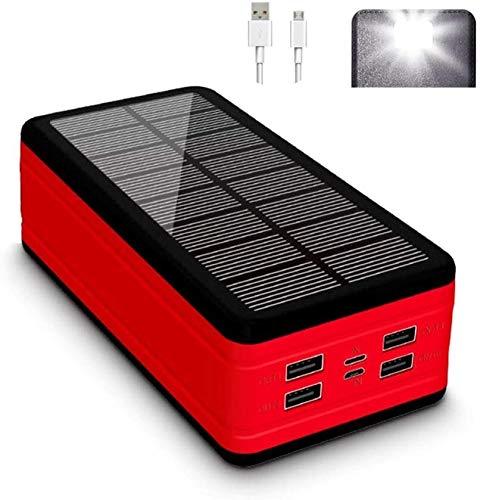 SOAR Portable Power Station Battery Generator Solar Power Bank 50000mAh mit 4 USB-Ausgängen und Dual-Inputs & LED-Taschenlampe, externer Backup-Batterie Riesiges Kapazität Telefon-Ladegerät