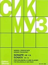 Prokofiev: Cello Sonata Op.119 (rev. 2001)