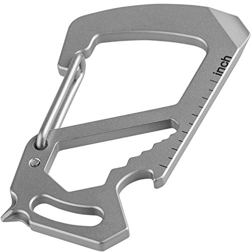 Best One-Piece Multi-Tool: Thorkey Carabiner Keychain Multi-Tool