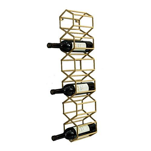 Estantes para Vino Estante para Vino Estante para Organizador De Vino Estante para Vino Estante para Botellas De Vino Montado En La Pared Soporte para Vino Nórdico Gabinete Decoración De Par