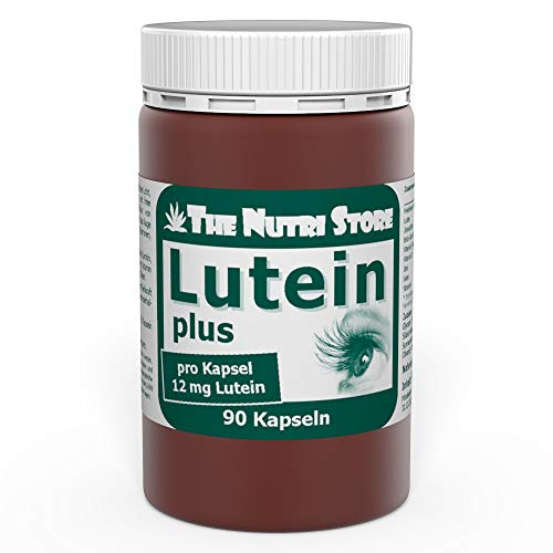 Lutein 12 mg + Zeaxanthin Heidelbeer Kapseln 90 Stk. wertvoller Beitrag zur Gesunderhaltung Ihrer Augen und Sehkraft