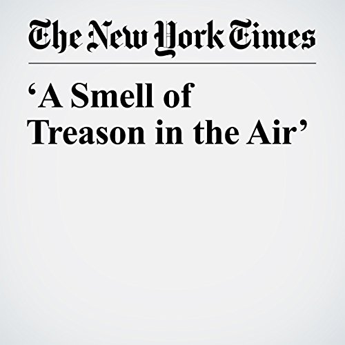 'A Smell of Treason in the Air' copertina