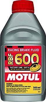 Motul MTL100949 8068HL RBF 600 Factory Line Dot-4 100 Percent Synthetic Racing Brake Fluid-500 300 ml