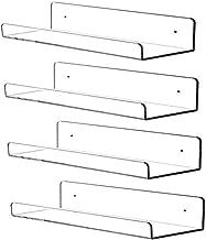 blanking Shelf in Plexiglass Transparent various measures