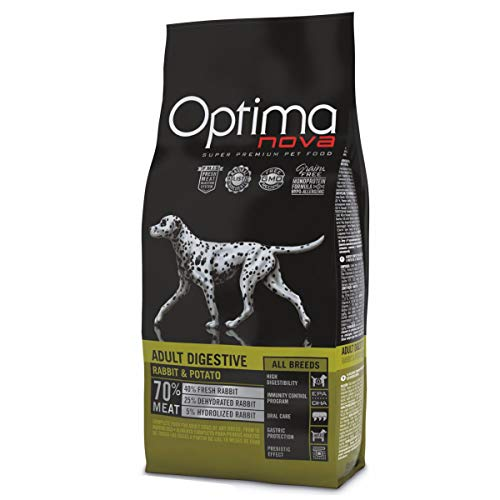 Optima nova Adult All Breeds Digestive Rabbit & Potato Grain Free 12000 g