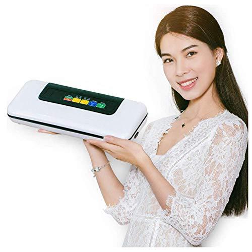 ZSM Máquina de Sellado al vacío, Completamente automática Pequeño Sellado de la máquina de Embalaje Compresor, seco y húmedo Modo Food, fácil de Limpiar, diseño Compacto YMIK