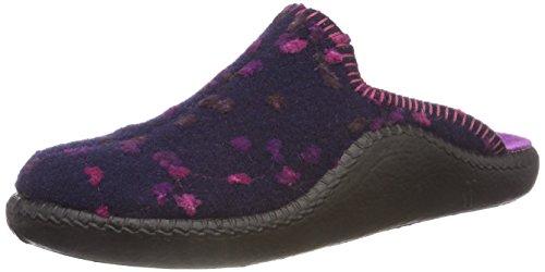 Romika Damen Mokasso 139 Pantoffeln, Mehrfarbig (Lila-Kombi 571 571), 40 EU