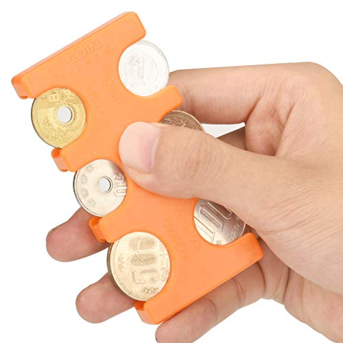 Drado 携帯 コインホルダー 小銭入れ オレンジ 2775円収納 (本体-オレンジ/ORANGE)