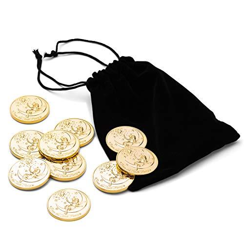 10 Medallas del Ratoncito Pérez - Dorado
