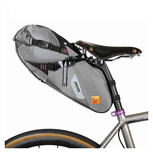 Jybhsh Bolsa de sillín Ultraligero-S/M Bicicletas de montaña Bolsa for Bicicleta de Carretera Accesorios Bici (Color : M Size Brooks Cage)