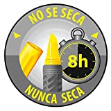 BIC Highlighter Grip Subrayadores Fluorescentes de Punta Biselada, Óptimo para material escolar,Colores Surtidos, Blíster de 4