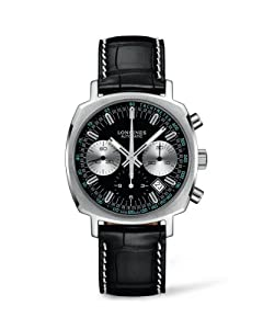 Longines Automatic Heritage Chronograph Men's Watch L2.791.4.52.0 image