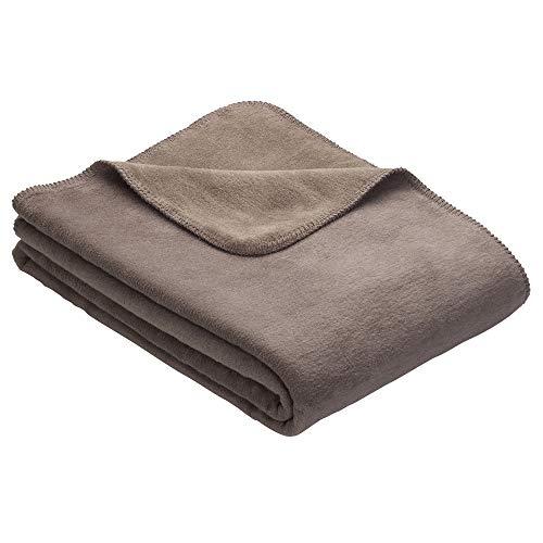 Ibena Sesselschoner Dublin 2340 / Sesselauflage Hellbraun/Espresso/Polsterschoner 50x200 cm/Schüzt optimal vor Verschmutzung und Abnutzung/in vielen Größen erhältlich