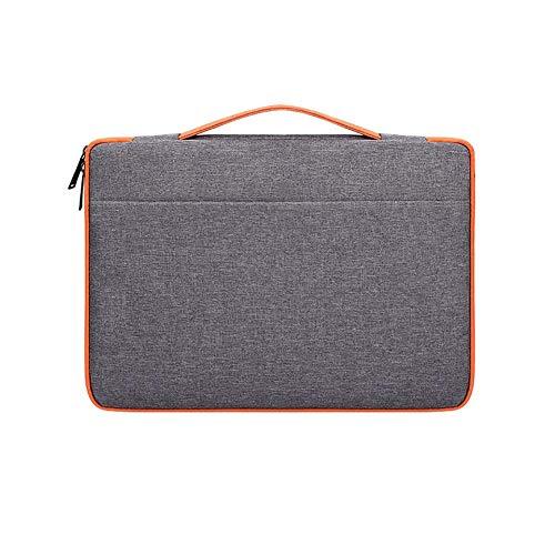 oinna Bolso de mano simple de negocios, bolsa para ordenador portátil, bolso bandolera para portátil, bolso para portátil para hombre y mujer, 41,5 x 29,5 x 3 cm