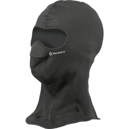 Scott Wind Warrior Hood Facemask Motorrad/Fahrrad/Ski Gesichtsmaske schwarz: Größe: L