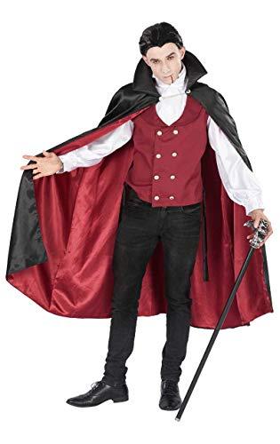 ORION COSTUMES Herren Vampir Graf Dracula Halloween Rotes Maskenkostüm