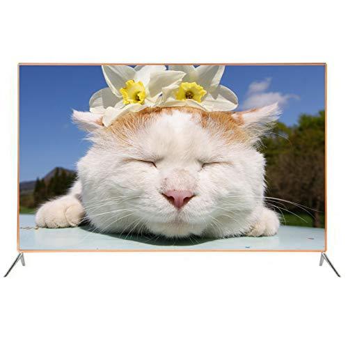HOUSEHOLD Smart TV de Red WiFi, TV LCD HD de Pantalla Grande Plana, Smart TV LCD con WiFi de 32 Pulgadas / 55 Pulgadas, Interfaz multidispositivo