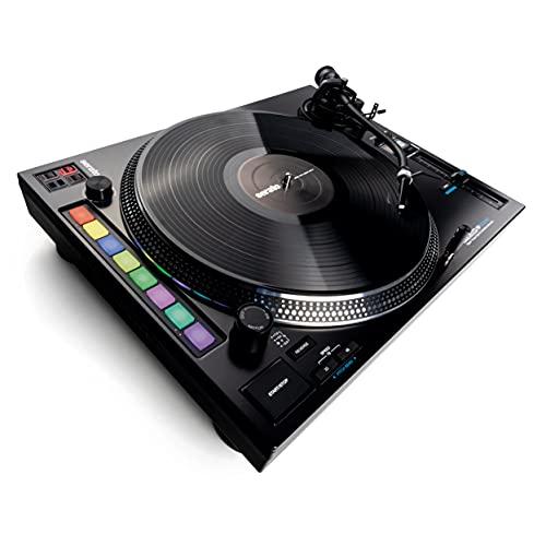Reloop RP-8000 MK2 - Der fortschrittlichste DJ-Plattenspieler aller Zeiten, 7 RGB-farbcodierte Performance-Modi, Platter Play: Steuerung der Geschwindigkeit des Plattentellers